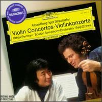 Alban Berg, Igor Stravinsky: Violin Concertos - Itzhak Perlman (violin)