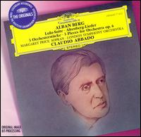 Alban Berg: Lulu-Suite; Altenberg-Lieder; 3 Orchesterstücke - Margaret Price (soprano); London Symphony Orchestra; Claudio Abbado (conductor)