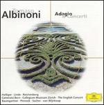 Albinoni: Adagio & Concerti - Camerata Bern; Collegium Musicum Zürich; David Reichenberg (oboe); Eduard Kaufmann (organ); Hans Elhorst (oboe); Hans-Martin Linde (flute); Heinz Holliger (oboe); Lucerne Festival Strings; The English Concert