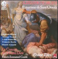 Alessandro Scarlatti: Il martirio di Sant'Orsola - Benoît Arnould (bass); François Roche (tenor); Jean-Paul Bonnevalle (alto); Marina Venant (soprano);...