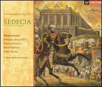 Alessandro Scarlatti: Sedecia, re di Gerusalemme - Gérard Lesne (alto); Mark Padmore (tenor); Peter Harvey (bass); Philippe Jaroussky (soprano); Virginie Pochon (soprano);...