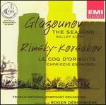 Alexander Glazounov: The Seasons; Nicolai Rimsky-Korsakov: Le Coq d'Or; Capriccio Espagnol