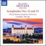 Alexander Moyzes: Symphonies Nos. 11 & 12