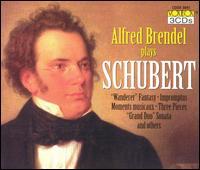 Alfred Brendel plays Schubert - Alfred Brendel (piano); Vienna Volksoper Orchestra; Michael Gielen (conductor)