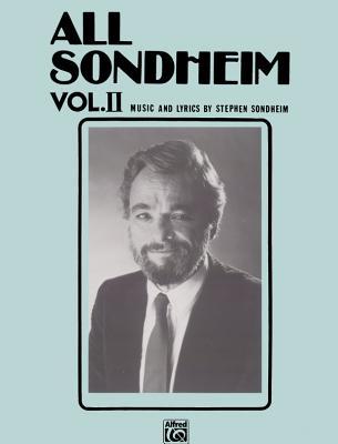 All Sondheim, Vol 2: Piano/Vocal - Sondheim, Stephen (Composer)