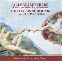 Allegri: Miserere; Palestrina: Missa Papae Marcelli - Andrew Carwood (cantor); Caroline Trevor (alto); Deborah Roberts (soprano); Donald Greig (bass); Sally Dunkley (soprano);...