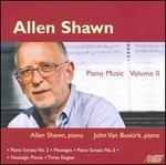 Allen Shawn: Piano Music, Vol. 2