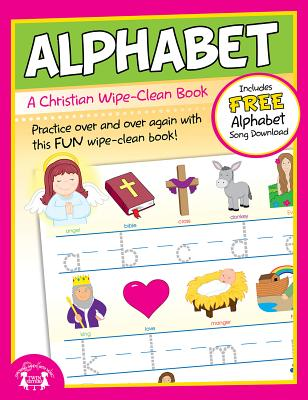 Alphabet Christian Wipe-Clean Workbook - Twin Sisters(r)
