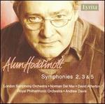 Alun Hoddinott: Symphonies 2, 3 & 5