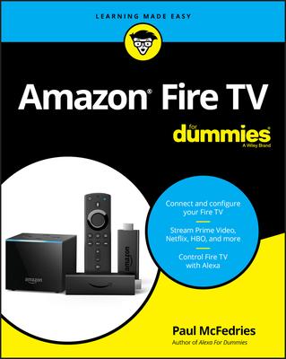 Amazon Fire TV for Dummies - McFedries, Paul
