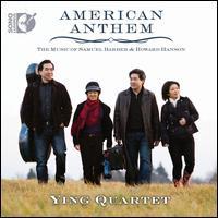 American Anthem: The Music of Samuel Barber & Howard Hanson - Adam Neiman (piano); Randall Scarlata (baritone); Ying Quartet