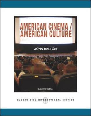 American Cinema / American Culture - Belton, John
