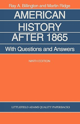American History After 1865: With Questions and Answers - Billington, Ray A, and World Trade Press, and Ridge, Martin