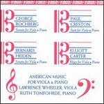 American Music for Viola & Piano