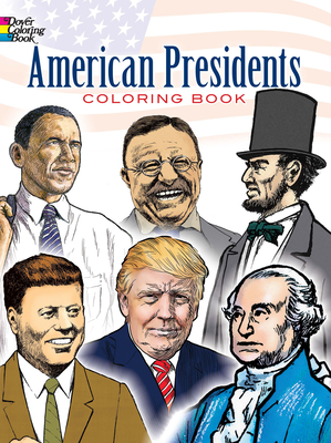 American Presidents Coloring Book - Copeland, Peter F