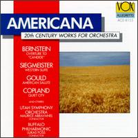 Americana: 20th Century Works for Orchestra -