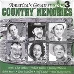 America's Greatest Country Memories, Vol. 3