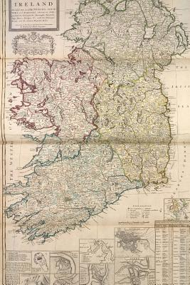 An Antique 1736 Map of Ireland Journal: Take Notes, Write Down Memories in This 150 Page Lined Journal - Journal, Map Lovers, and Paper, Pen2