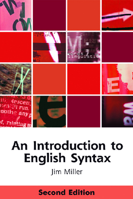 An Introduction to English Syntax - Miller, Jim, Professor