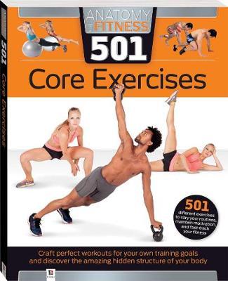 Anatomy of Fitness 501 Core Exercises - Diamond-Walker, Natasha