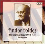Andor Foldes: The Tono Recordings (1950-51)