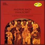 Andreas Bach Manuscript
