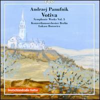 Andrzej Panufnik: Symphonic Works, Vol. 5 - Jörg Strodthoff (organ); Michael Oberaigner (tympani [timpani]); Konzerthausorchester Berlin; Lukasz Borowicz (conductor)