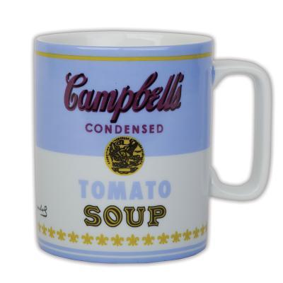 Andy Warhol Campbell's Soup Blue Mug - Galison, and Warhol, Andy