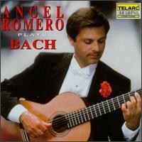 Angel Romero Plays Bach - Angel Romero (guitar)