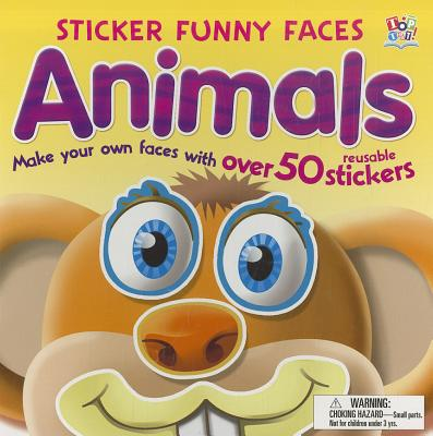 Animals - Sticker Funny Faces -