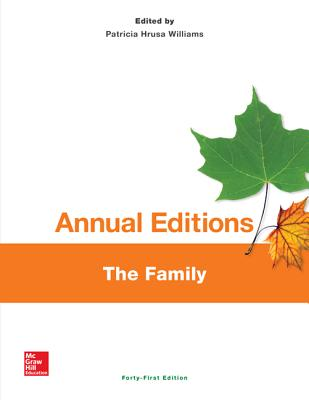 Annual Editions: The Family, 41/E - Williams, Patricia