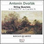 Antonín Dvorák: String Quartets No. 8 & No. 9