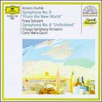 "Antonín Dvorák: Symphony No. 9 ""From the New World""; Franz Schubert: Symphony No. 8 ""Unfinished"""