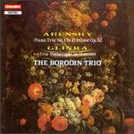 Anton Arensky and Mikhail Glinka: Piano Trios