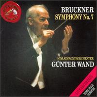 Anton Bruckner: Symphony No.7 In E - NDR Symphony Orchestra; Günter Wand (conductor)