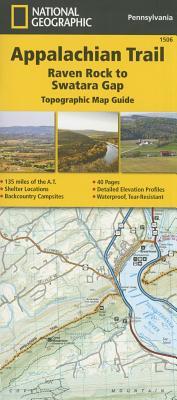 Appalachian Trail, Raven Rock to Swatara Gap [pennsylvania] - National Geographic Maps - Trails Illustrated