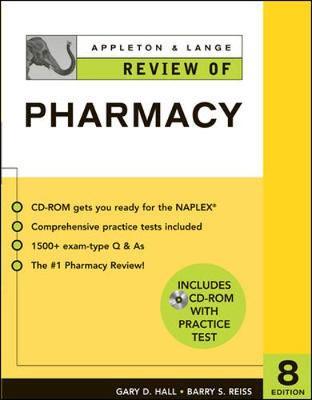 Appleton & Lange Review of Pharmacy - Hall, Gary D