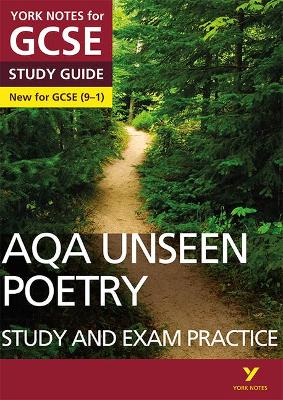 9781292186344: AQA English Literature Unseen Poetry Study and Exam -