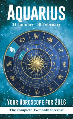 Aquarius 2015 Horoscopes -