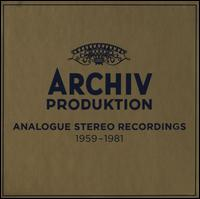 Archiv Produktion: Analogue Recordings, 1959-1981 - Adolf Scherbaum (trumpet); Alan Cuckston (organ); Alan Lumsden (tenor cornet); Alan Lumsden (sackbut);...