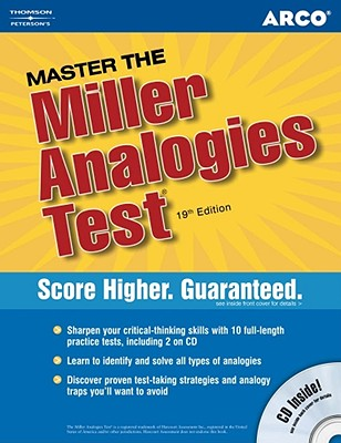 Arco Master the Miller Analgies Test - Bader, William, and Burt, Daniel S, and Killoran, David M