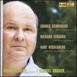 Arnold Schönberg: Brettl-Lieder; Richard Strauss: Krämerspiegel; Kurt Hessenberg: Lieder eines Lumpen
