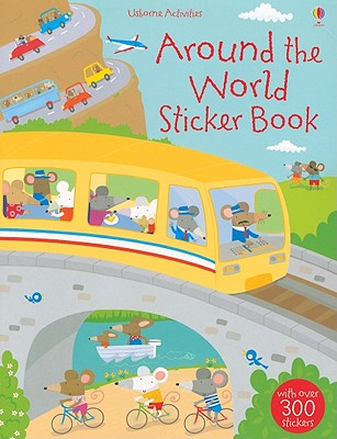 Around the World Sticker Book -