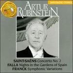 Artur Rubinstein: Saint-Saens; Franck