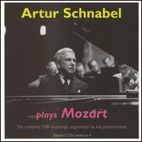 Artur Schnabel plays Mozart - Alphonse Onnou (violin); Artur Schnabel (piano); Germain Prevost (viola); Robert Maas (cello)