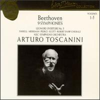 Arturo Toscanini Collection, Vol. 1-5: Beethoven - 9 Symphonies, Etc. - Eileen Farrell (soprano); Jan Peerce (tenor); Nan Merriman (vocals); Norman Scott (bass);...
