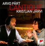 Arvo P�rt: Cantique