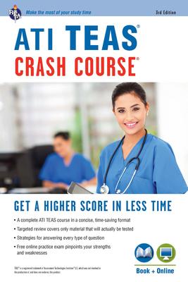 Ati Teas Crash Course(r) Book + Online: Get a Higher Score in Less Time - Allen, John