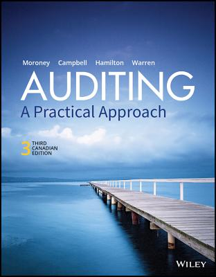 Auditing: A Practical Approach, 3rd Canadian Edition Wileyplus Lms Card - Moroney, Robyn