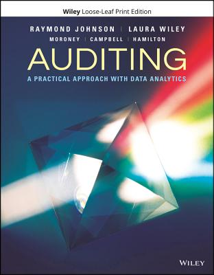 Auditing: A Practical Approach with Data Analytics - Johnson, Raymond N, and Davis Wiley, Laura, and Moroney, Robyn